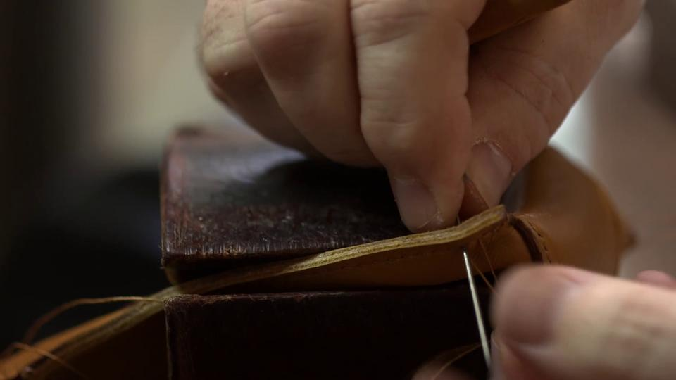 Leica M9-P Being Crafted by Hand