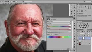 Photoshop Technique: Retouch Shiny Skin