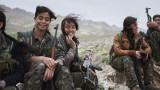 Guerrilla Fighters of Kurdistan by Joey L