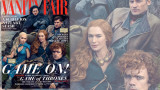 Behind the Scenes – Cast of Game of Thrones Vanity Fair Cover