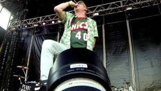 Shooting a Mackelmore Show from the Pit