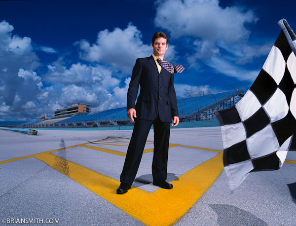 Jeff Gordon by Brian Smith