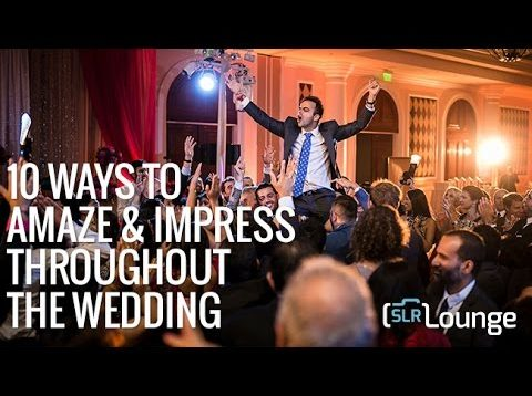 10 Ways to Amaze & Impress Throughout The Wedding