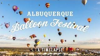 Albuquerque Balloon Festival Timelapse