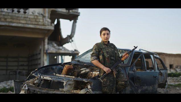 Guerrilla Fighters of Kurdistan by Joey L