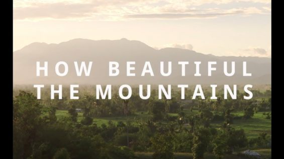 How Beautiful The Mountains