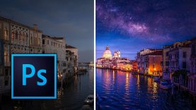 How to Add the Milky Way to your Night Skies Photoshop Tutorial