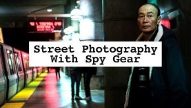 Spy Street Photography With Strange Lens Attachment