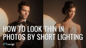 How to Look Thinner in Photos by Short Lighting | Minute Photography