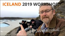 Quick BTS of Iceland Workshop – Mike Browne
