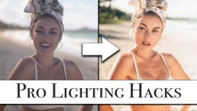 3 Lighting Hacks To Improve Your Photography Forever.