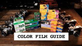 Color Film Comparison, Guide, & Blind Test  (C-41)