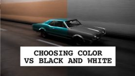 How I decide if a photo should be color or black and white