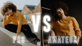 Pro vs. Amateur Photo Editing