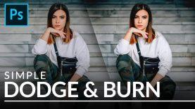 Simple Dodge & Burn in Photoshop