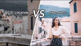 LOCATION vs FINAL PHOTO in Croatia