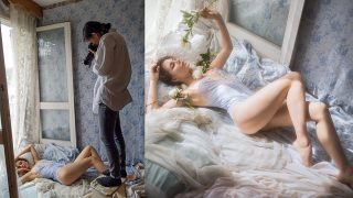 Boudoir Photoshoot – Behind The Scenes with Vivienne Mok