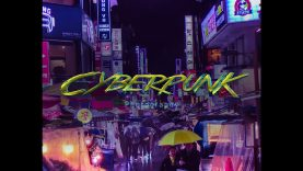 Rainy Cyberpunk Phone Photography – Seoul