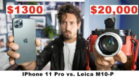 NEW IPhone 11 Pro vs $20,000 Leica   Can You Tell The Difference?