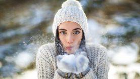 Winter Photoshoot, Behind The Scenes