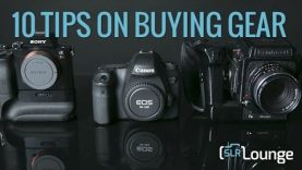 10 Tips on Purchasing Photography Gear