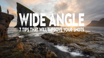 7 SIMPLE tips that will IMPROVE your WIDE ANGLE LENS photography