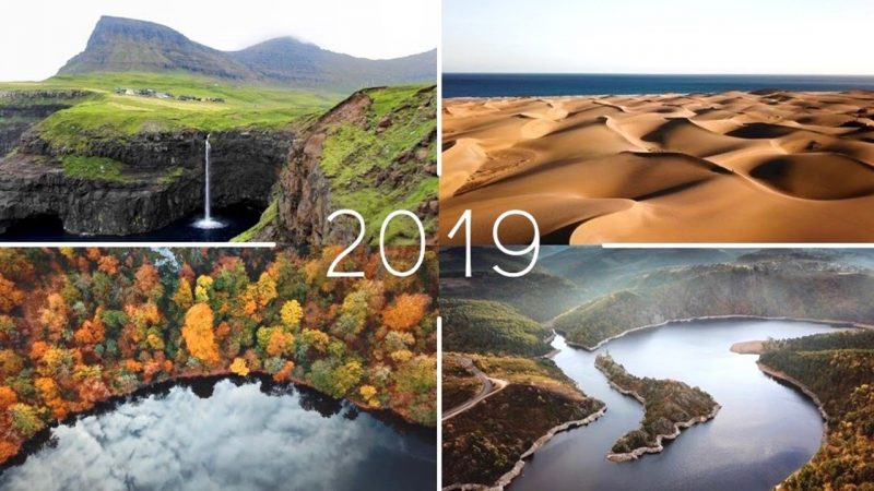 Best Drone Shots of 2019 by Gaëtan Piolot